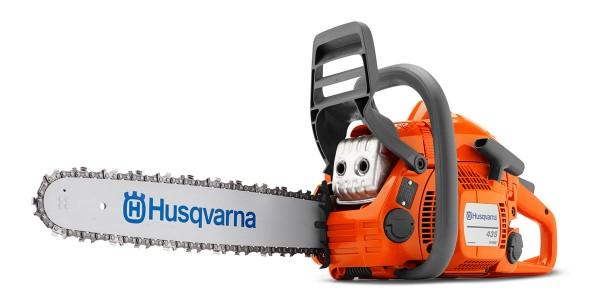 Husqvarna Kettensäge Benzin 435 II mit Ersatzkette