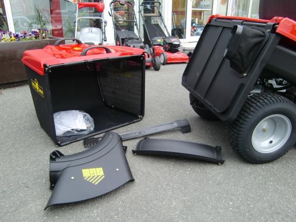 Wolf Garten Expert Aufsitzmaher Scooter Pro Hydro Mit Mulchsystem Gartengerate Outlet